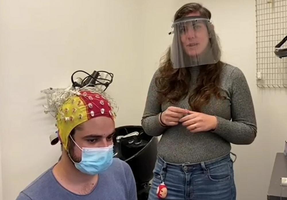 הניסוי במעבדה