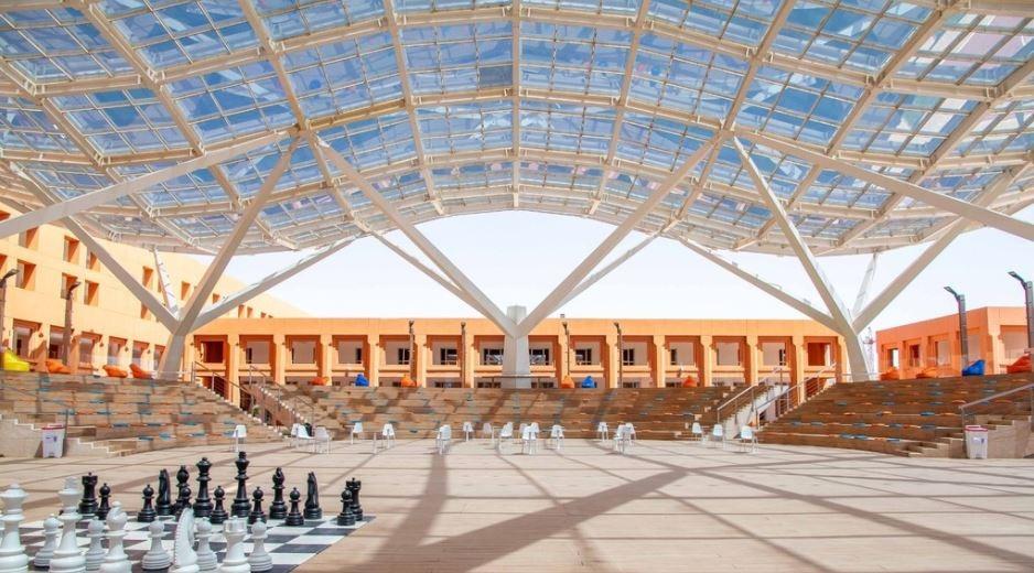 קמפוס מוחמד השישי במרוקו. צילום באדיבות UM6P