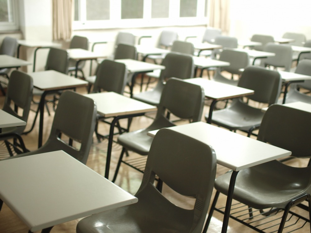 כיתת לימוד בבית ספר יסודי. צילום באדיבות MChe Lee, מאתר unsplash