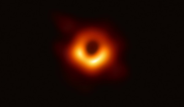 black hole Messier87. by European Southern Observatory [ESO]