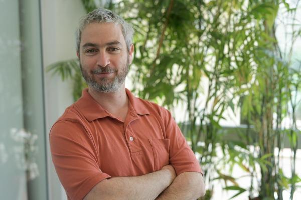 דר גילי גרינבאום. צילום באדיבות האוניברסיטה העברית