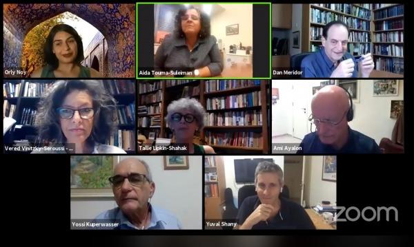 דיון במכון טרומן אודות החלת הסיפוח
