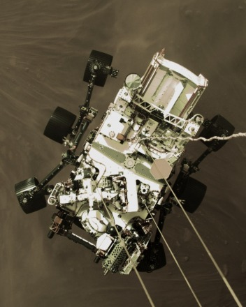 NASA's Perseverance rover touched down on Mars on February 18, 2021